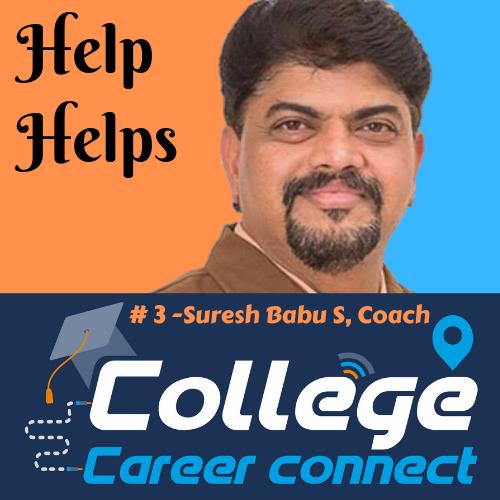 #3. Help Helps - Suresh Babu S, Coach