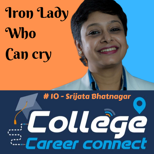 #10. Iron Lady Who Can Cry- Srijata Bhatnagar