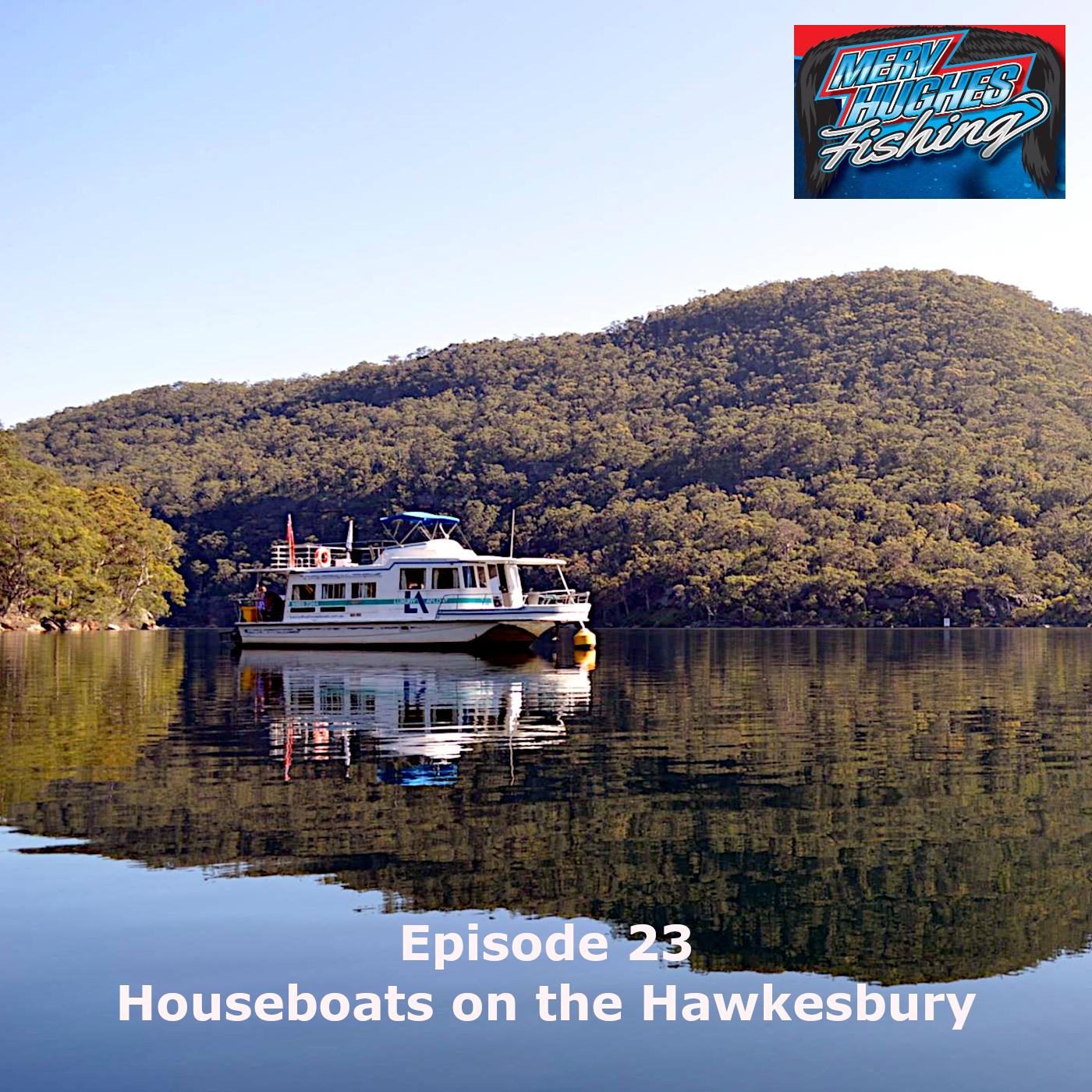 Houseboats on the Hawkesbury