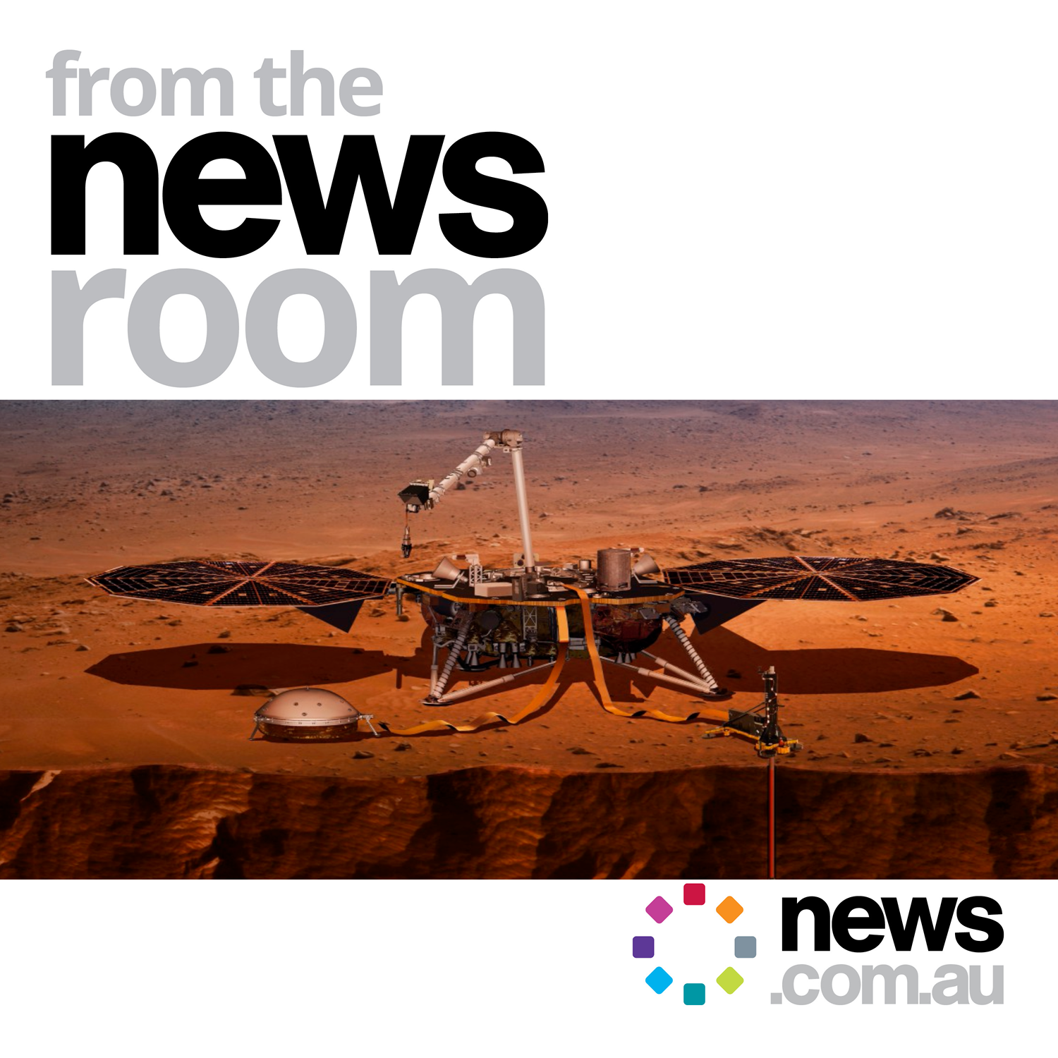 Tuesday November 27 - NASA lands on Mars, drama in parliament, police search underway around a cold-case, NSW mum who drowned her two sons in a river,