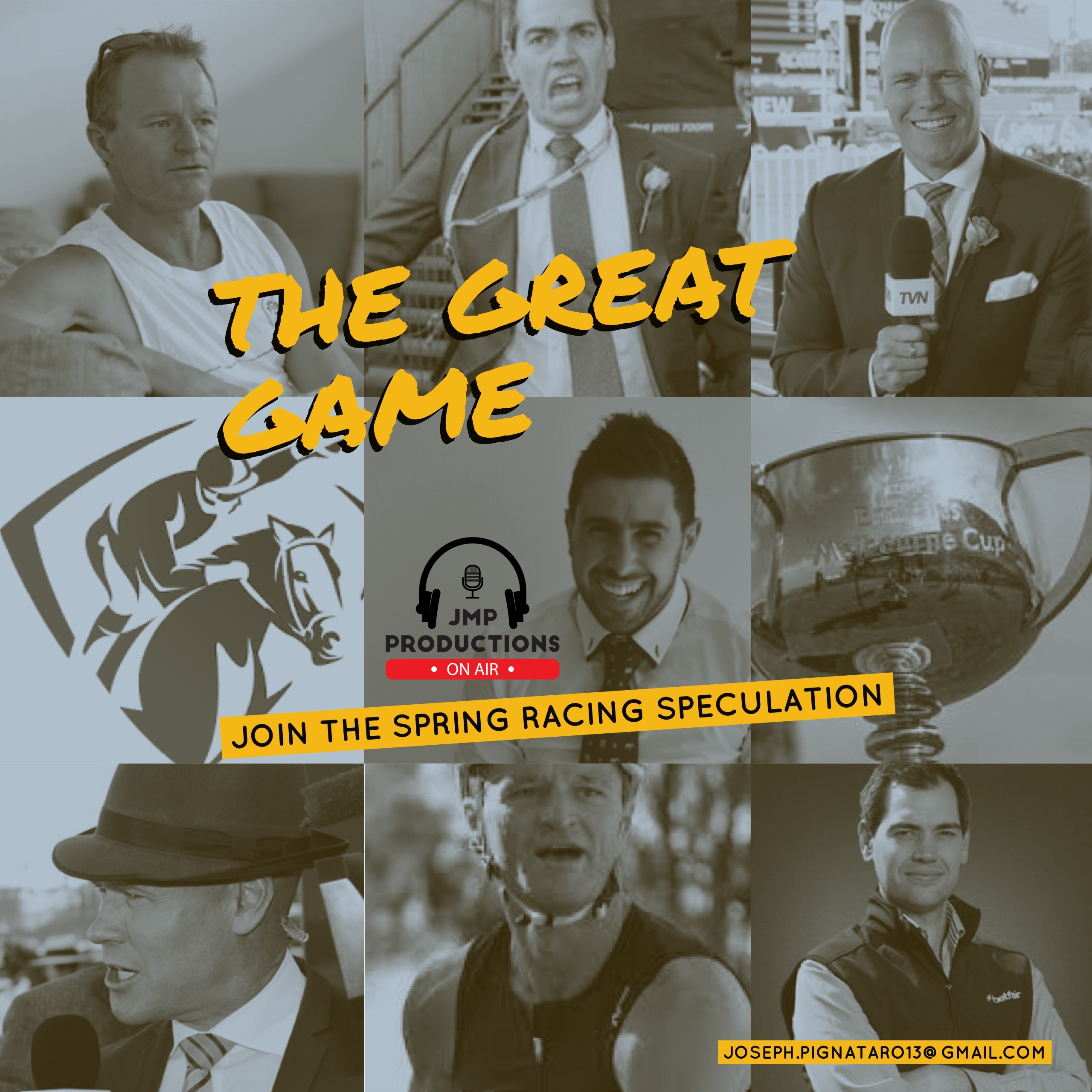 Episode 9 - The Great Game (October 25, 2018)