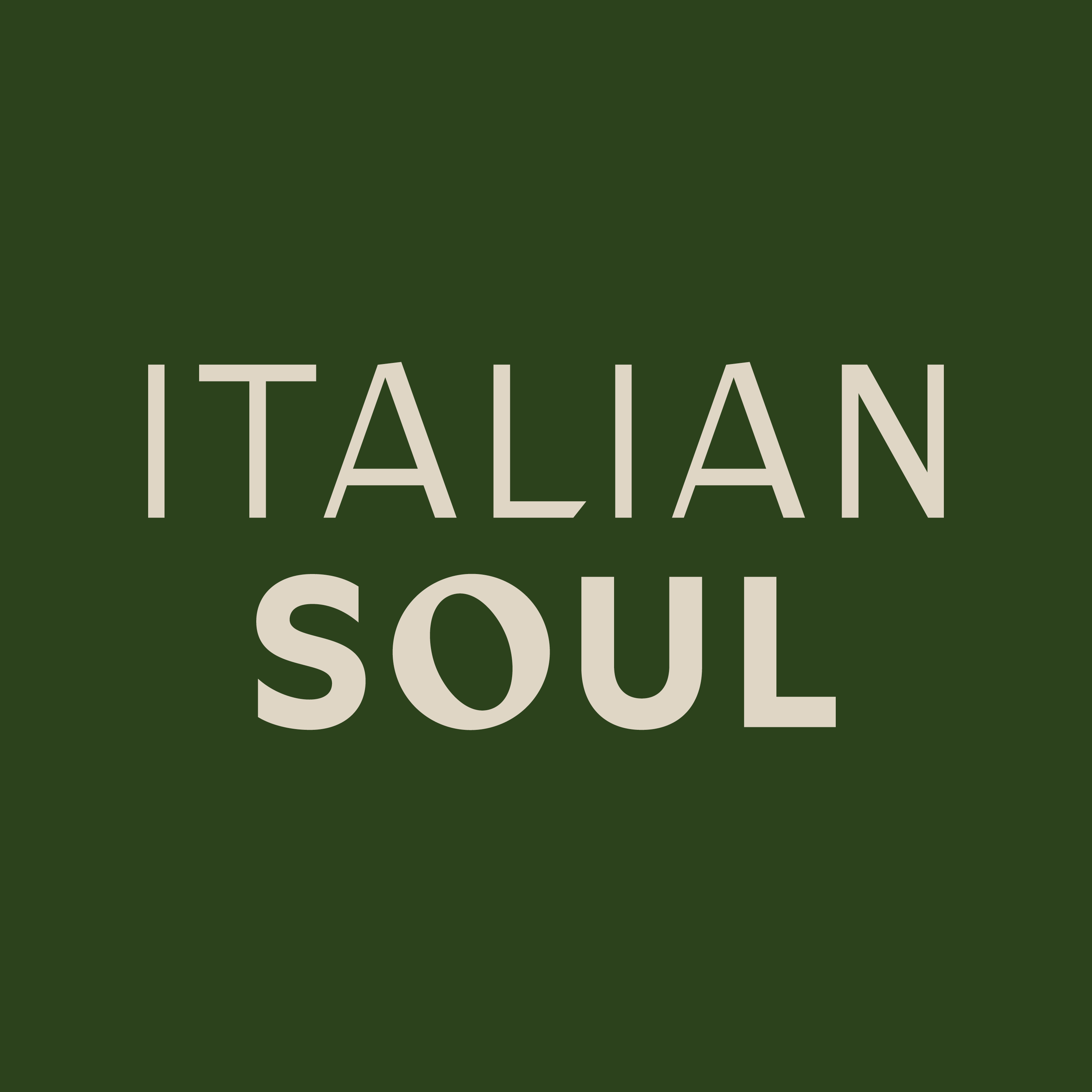 In Conversation With Italian Soul Coming Soon!