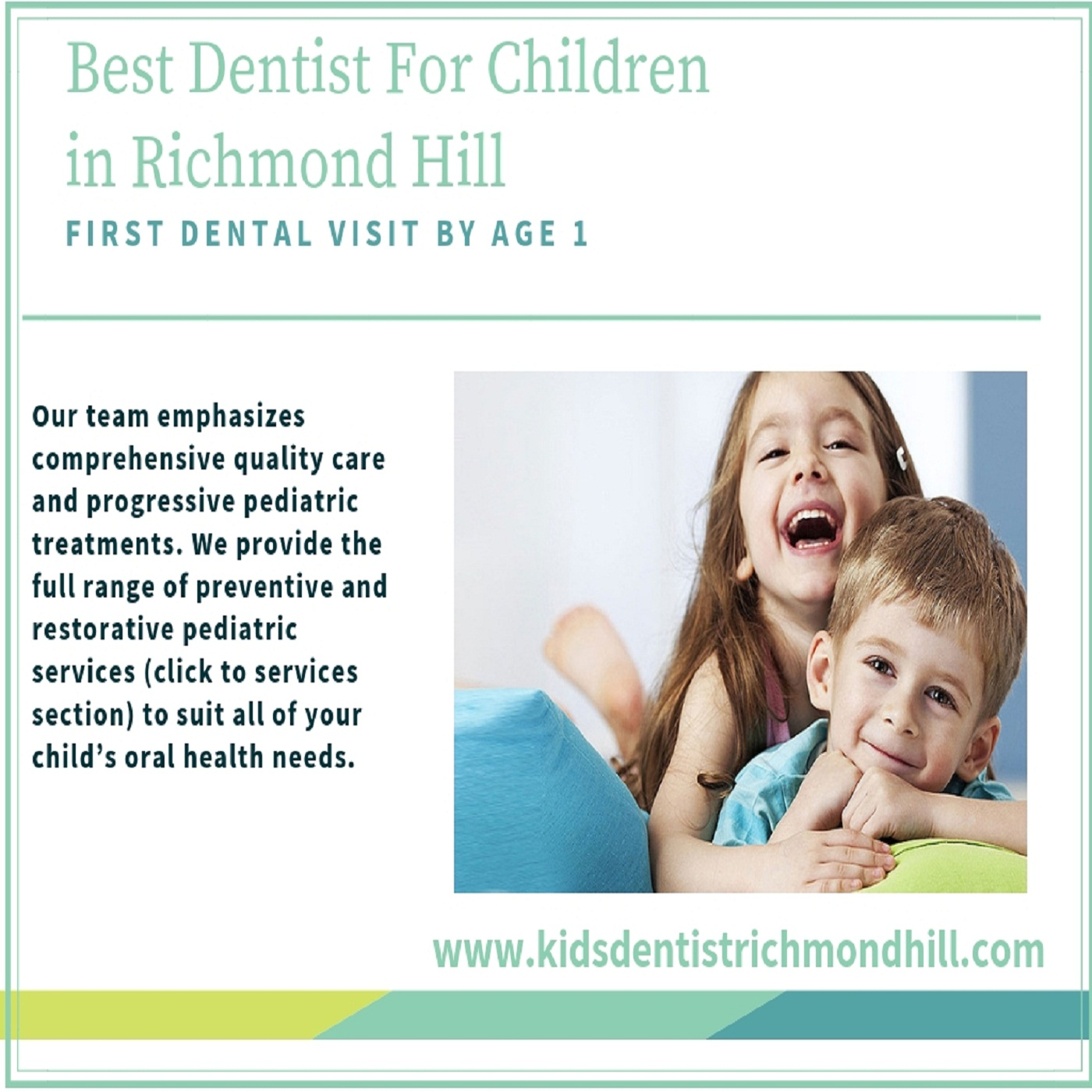 Hiring the professional kids dentist in Richmond Hill