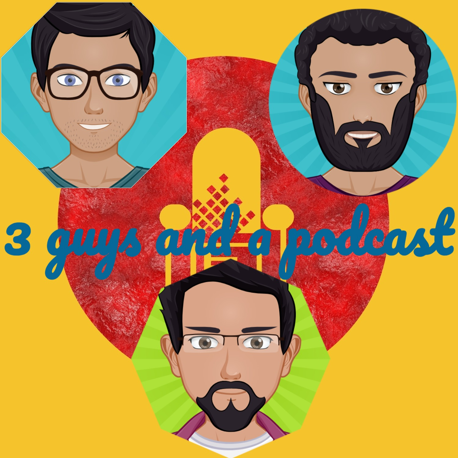 Episode 1 | Three Guys Podcast | Commencing Shit-talking | Pilot test |
