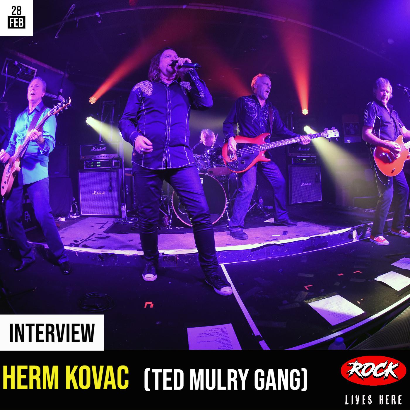 Herm Kovac (Ted Mulry Gang)